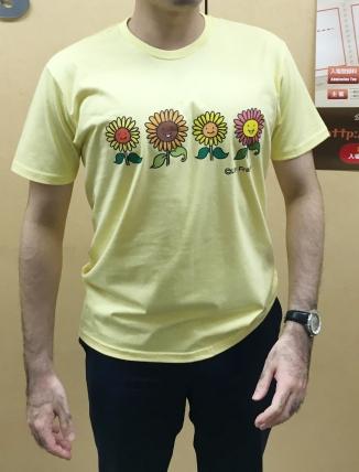 黄色Tシャツ_前
