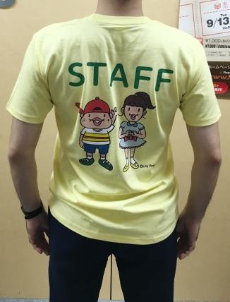 黄色Tシャツ_後